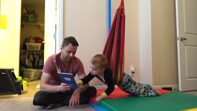 helping my hyperactive son learn to read using swing movement therapy