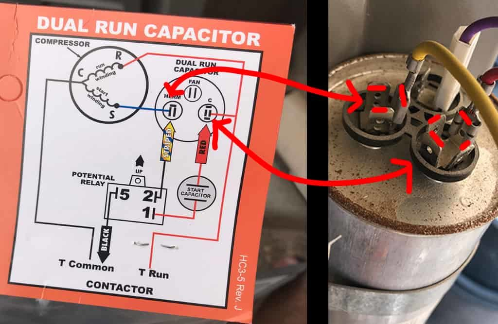 Increasing the Life of Your Air Conditioner: How to Install a 'Hard Start'  Kit - TerryCaliendo.com | Hvac Hard Start Capacitor Wiring Diagrams |  | Terry Caliendo